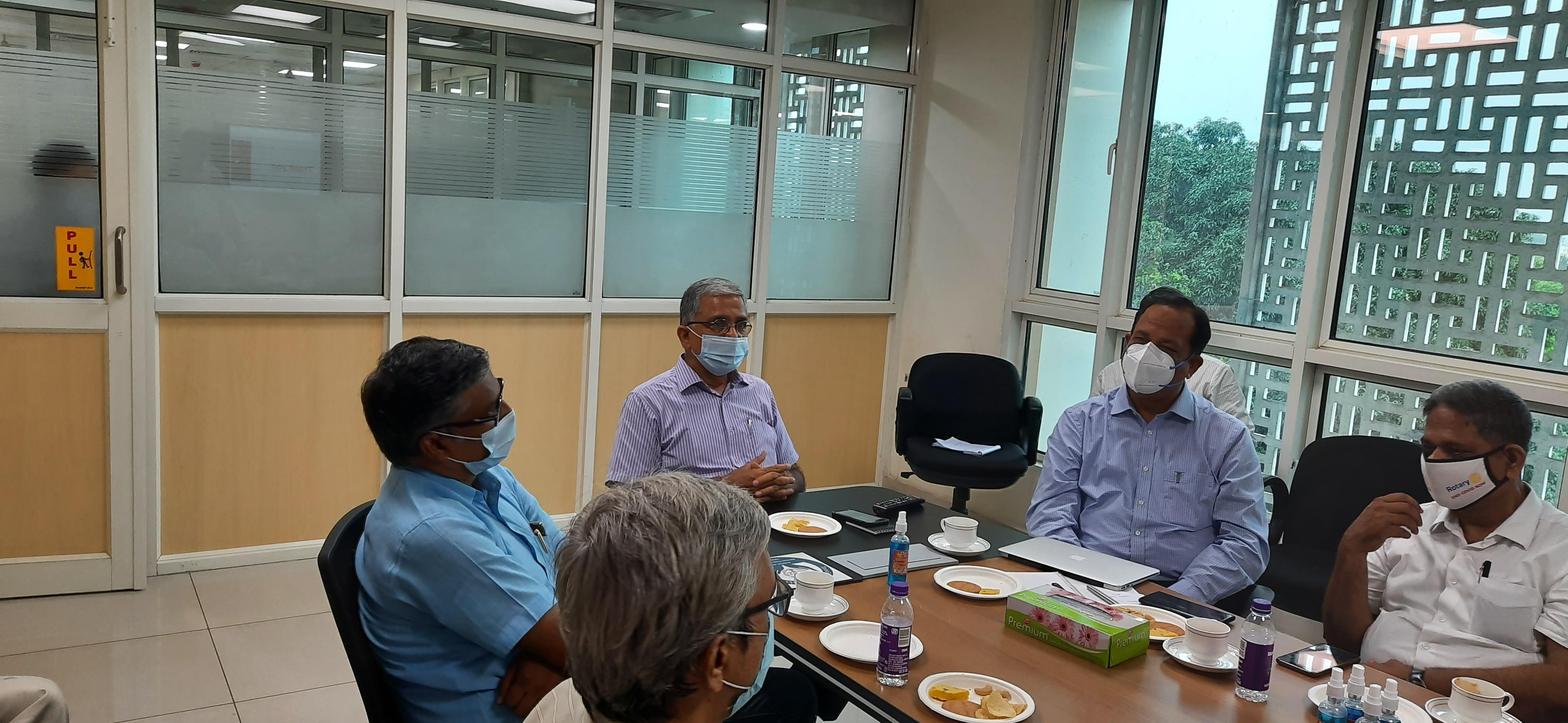 Meeting with Executive Director, FFDC, Kanauj