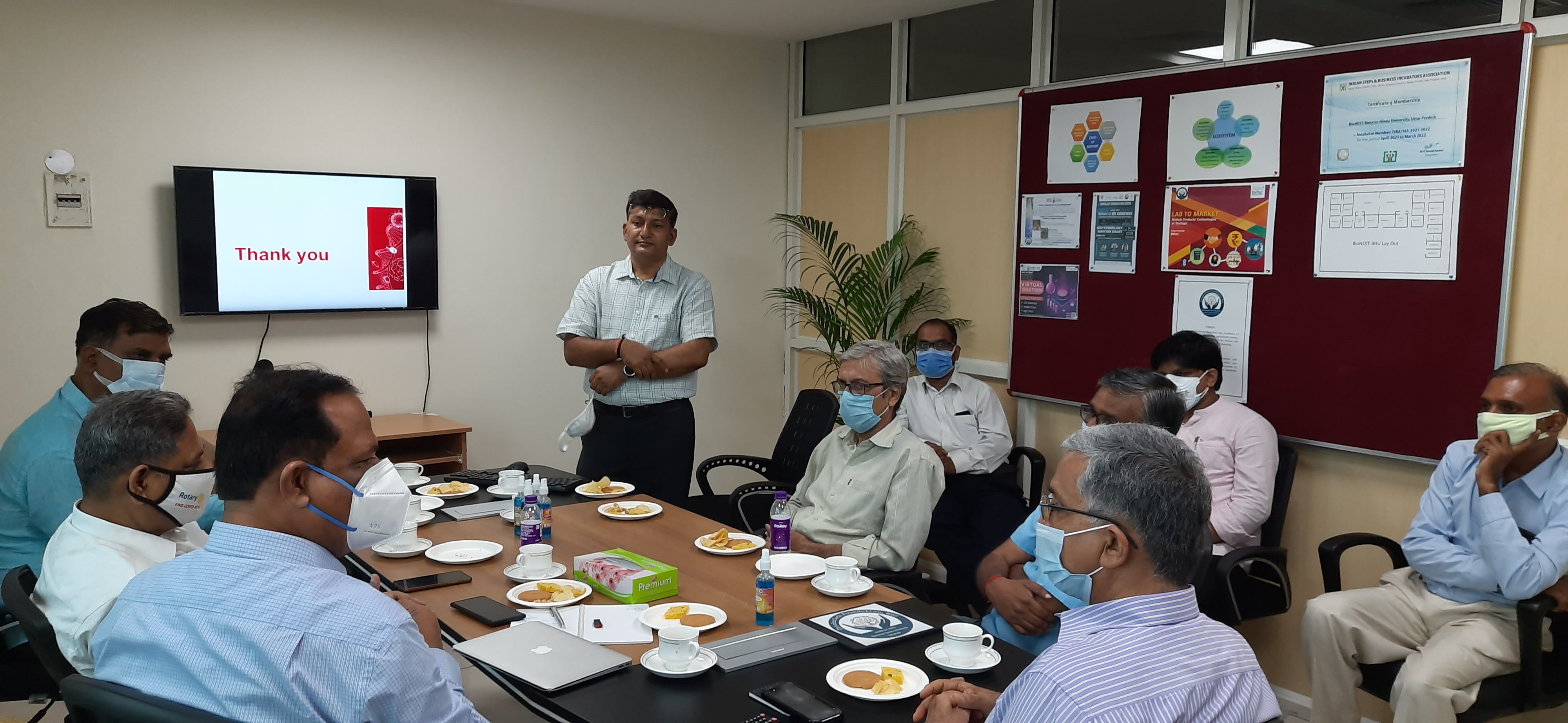 Visit of Shri S.V.Shukla, Executive Director of FFDC Kanauj